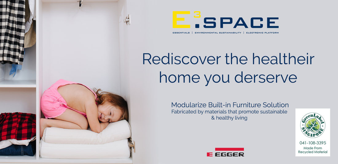 E³.SPACE modularize built-in furniture